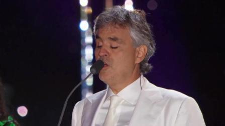 世界第四大男高音安德烈·波切利现场演唱经典《告别时刻》
