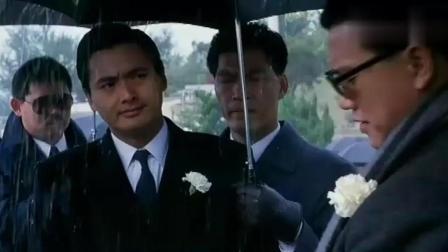 《江湖情2》都说万梓良抢了周润发的风头, 老大真适合他