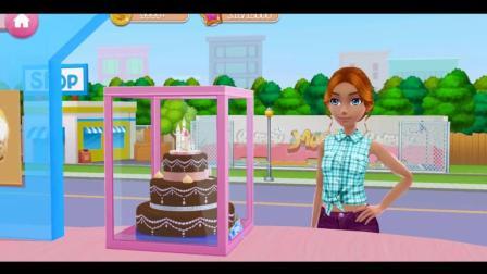 芭比娃娃制作冰激凌甜点蛋糕  各种不同口味的美味甜品店游戏