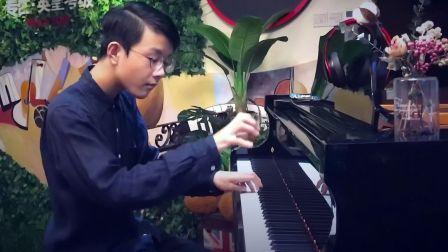 我为厦门音校初三毕业音乐会创作的钢琴曲:《降E大调管乐重奏》18.08.26