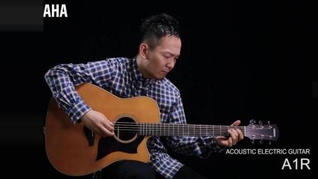 田中彬博使用雅马哈A3R吉他评测 雅马哈吉他A1R演奏视频 星星河乐器专营店