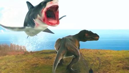 吐嚎影院 第一季 巨型鲨鱼大战霸王龙 超级烂片鲨卷风又来了