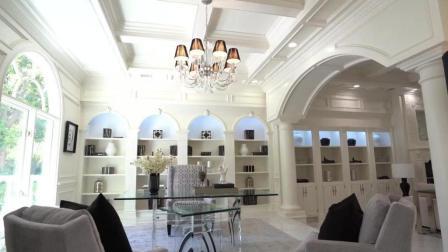豪华传统与现代奢华的结合, 这样的大别墅你见过吗