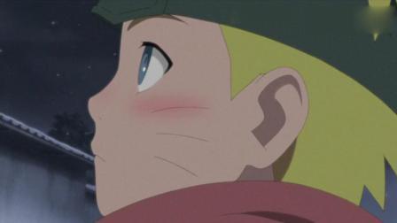 火影忍者: 这是鸣人和雏田第一次的亲密接触, 鸣人: 像我这样的人从来不会哭