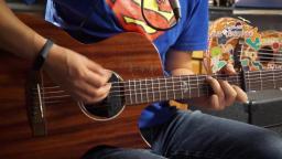 左轮民谣吉他教程NO.169课 《赵雷彩虹下面》