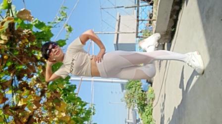 超好听又好看的一支最新时尚广场舞《隔壁泰山》横屏正面竖屏背面