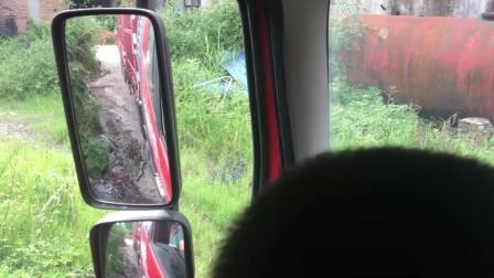 【茅塞顿开】看这半挂车倒车视频讲解的, 在济宁运河航母这场地学半挂车倒车技巧真好