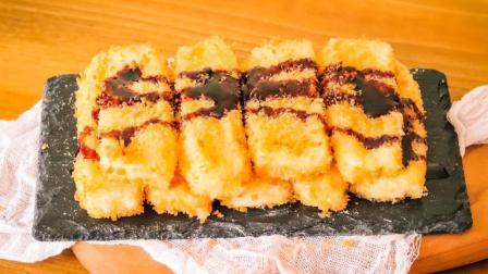 教你红糖糍粑的做法, 在家就能做, 又香又糯, 百吃不厌