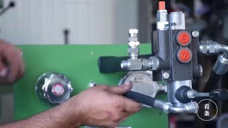牛人自制液压机, 工具才是重点, 都能开厂了
