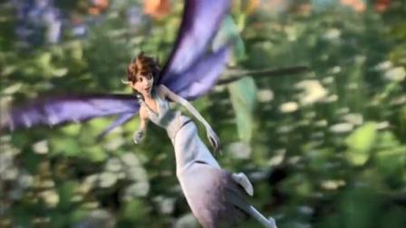 仲夏夜魔法:这个人还有双翅膀,不会是妖怪吧,把我都看傻眼了
