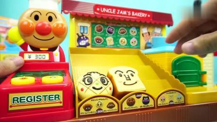 面包超人-早餐面包店过家家玩具