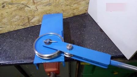 教你做个手动弯管机, 简单实用值得一试