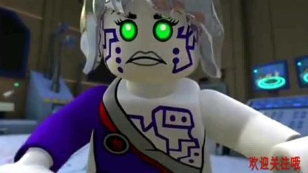 《乐高幻影忍者》凯他们被黑暗之主发现了, 怎么会这样, 太逗了