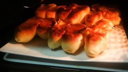微波炉烤面包的做法, 步骤简单, 以后可以不用去超市买了