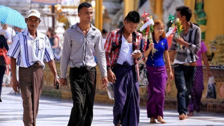 为什么缅甸的男女老少都不穿裤子? 这样的风俗文