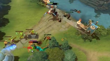DOTA2: 新英雄现身 技能GRIMSTROKE 太变态输出爆炸