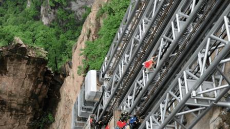 中国花2亿造世界最高电梯, 每秒上升5米, 你敢坐么