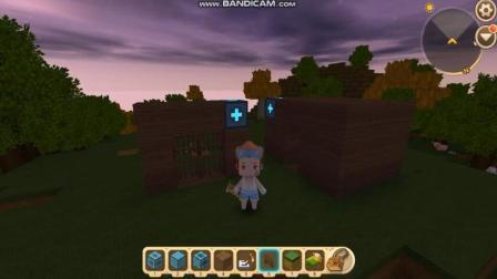 飞龙解说 迷你世界 隐形房子移动门是怎么做的 第119集