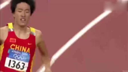 2004年雅典奥运会刘翔110米栏夺冠创造历史感动中