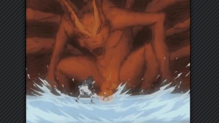 火影忍者: 佐助以为结束战斗了想不到鸣人得到九尾的查克拉佐助看到后秒怂