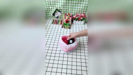 (手工制作)教你如何用牙签心首饰盒