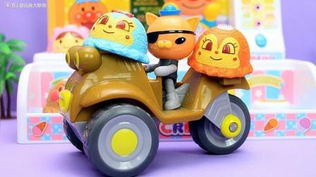面包超人冰激凌商店玩具