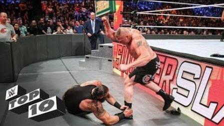 美国职业摔交 WWE美国职业摔角8月TOP10最精彩时刻