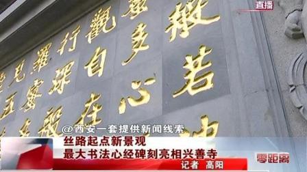 西安大兴善寺心经发布会电视台报道
