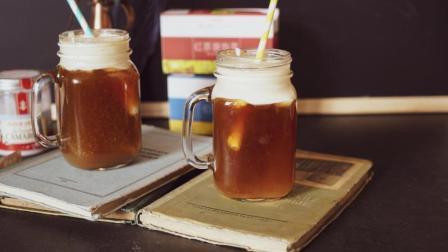 我的日常料理 第一季 红茶甜橙加伯爵蜜桃马斯卡彭海盐奶盖