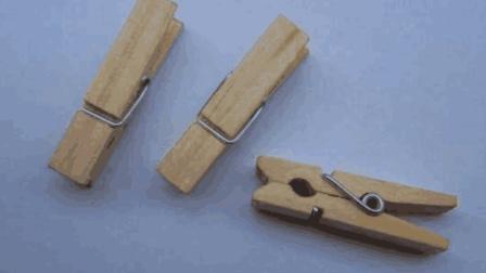 小小木夹子, 轻微改造一下, 就能变成这么使用的东西!