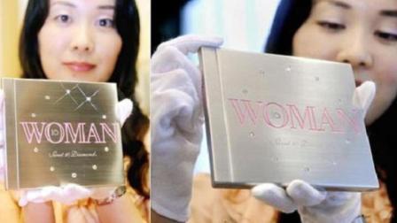 CD上边镶钻石, 真的有人买吗? 网友: 论粉丝的力量!