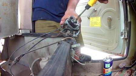 摩托车维修放久了清洗化油器 第二集