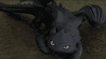 小男孩的宠物是一只黑色的龙超级炫酷, 上天入地吐雷放电无所不能