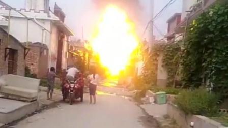 燃气运输车, 液化气钢瓶被炸飞至2层楼高