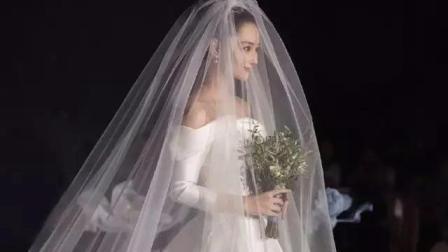 张馨予婚礼视频曝光, 何捷的告白太暖心看哭网友, 嫁给爱情的女人就是这么幸福