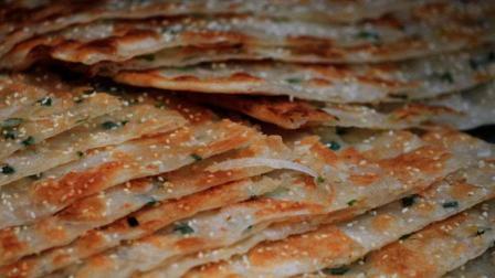 千层饼这样做, 皮薄如纸, 层次分明, 香脆可口, 做法很简单