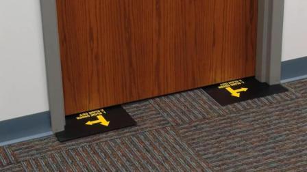 在门上插上这个装置, 小偷把锁撬了都进不来, 适应各种门型