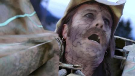 不明液体滴到钢铁上, 发生恐怖变化, 三分钟看完《钢铁入侵者》