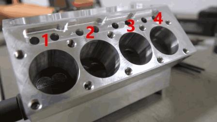 5轴机床加工V8发动机缸体, 全程高能, 太过瘾了