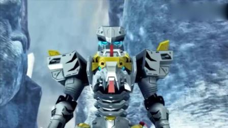 《超兽武装》风耀和白虎部队超兽武装下, 狮王他们明显不是对手
