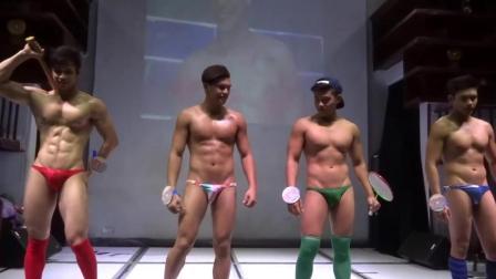 泰国夜场男模走秀, 有没有你喜欢的男神?