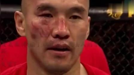 """中国""""UFC领军人""""张铁泉集锦, 这次看哭了多少观众"""