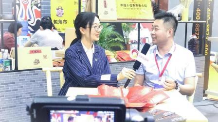 百味记小郡肝砂罐串串推广总监贾嘉男先生接受前景加盟网采访