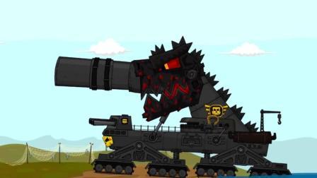 坦克世界欢乐动画: 中系再次被黑! 日系化身环太平洋中的巨兽!