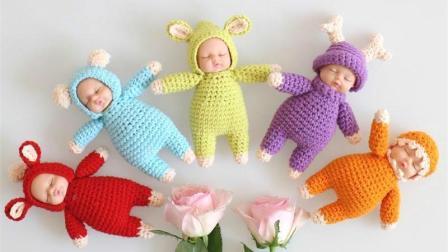 燕子编织-闭眼娃娃