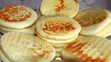 发面饼最好吃的做法, 蓬松暄软, 比蛋糕简单, 比面包好吃