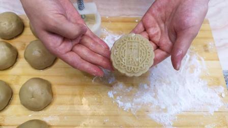 不用烤箱和平底锅, 教你在家做月饼, 干净卫生, 零添加, 越吃越馋
