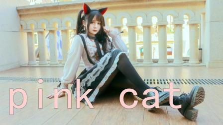 【宅舞】pink cat【琉克】