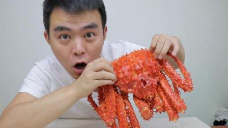 第一次吃300块一只的帝王蟹, 会不会太贵了? 两口就吃掉100多块