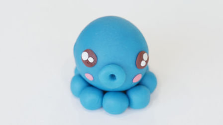 会玩妈妈-彩泥DIY呆萌小章鱼